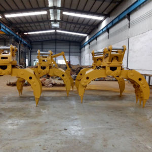 Hyduaulic Grapple for Excavators pictures & photos