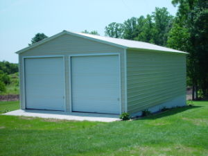 Large Outdoor Backyard Metal Storage Garden Sheds for Sale pictures & photos