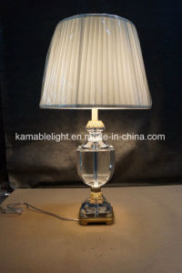 European Simple Brass Crystal Hotel Bedside Table Lamps (KATL1630) pictures & photos