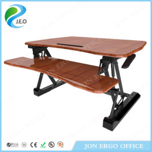 Jeo Height Adjustable Sit Stand Desk pictures & photos