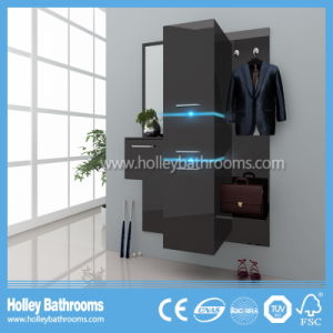 Modern More Kinetic Energy LED Hanging Clothes Rack Open Wardrobe-PF130c