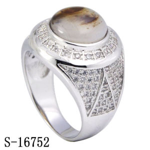 New Designs 925 Silver Fashion Mirco Pave Setting CZ Men Rings pictures & photos