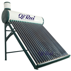 High Efficiency Low Pressure Vacuum Tube Solar Energy Water Heater with Ce Approval pictures & photos