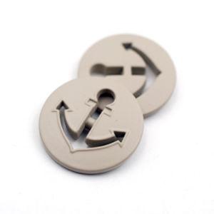 Lacquer Alloy Hollow Curved Metal Button Anchor Design Button pictures & photos