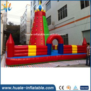 Outdoor Inflatable Climbing Wall Games, Inflatable Rock Climbing Walls Price