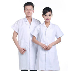 Hot Sale Lab Coat Made in China pictures & photos