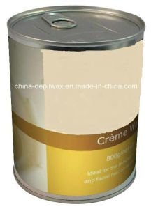 800g Can Soft Depilatory Wax Chocolate Creme Wax with Wonderful Aroma Waxing pictures & photos