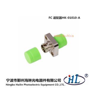 FC/APC Square Fiber Optic Adaptor with Zirconia Sleeve pictures & photos