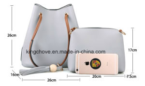 Hot Selling Korean PU Tote Handbag (KCHA003) pictures & photos
