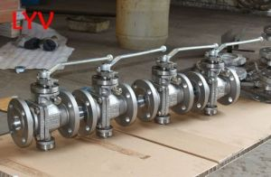 Lever Operated Cast Steel Ball Valve