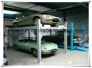 Four Post Outdoor Parking Lift Hydraulic Lift pictures & photos