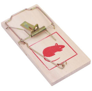 2PCS Daily Wooden Mouse Trap pictures & photos