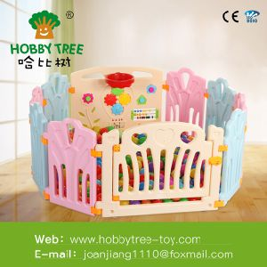 2016 New Baby Products safety Game Playpen Kids Plastic Playpen European Standard Fence Baby