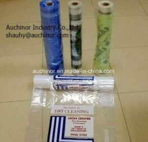 Clear LDPE Drycleaning Bag and Cover on a Roll for Clothes and Garment pictures & photos