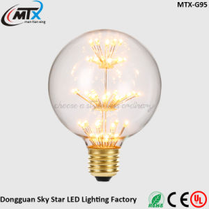 Popular in Europe RoHS E27 G125 Modern LED Decorative Bulb pictures & photos