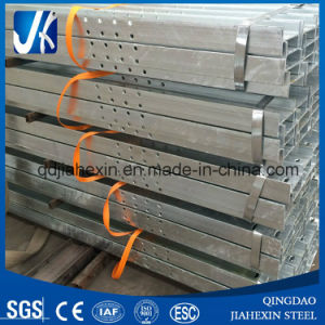 New Product Hot Dipped Galvanized Steel H Beam with Slots for Building pictures & photos