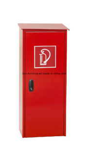 Metal Fire Entinguisher Cabinet with Sloping Roof for Interior Areas/Rotary Handle Fire Cabinet pictures & photos