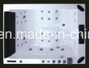 1860mm Big Size Build in Massage Bathtub SPA with Ce RoHS for 2 People (AT-0505F TV) pictures & photos