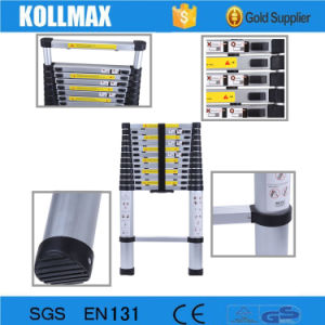 4.4m Aluminumtelescopic Ladder with Finger Safety Gap pictures & photos