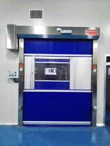 OEM Automatic Industrial PVC Fast Door pictures & photos