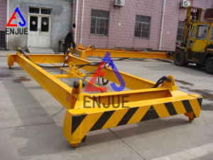 Good Quality Swl 32t Semi-Automatic Container Spreader for 20 Feet ISO Container Lifting Frame pictures & photos