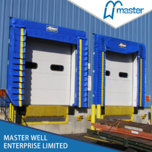 Automatic Overhead Sectional Industrial Door with Inflatable Dock Seal pictures & photos