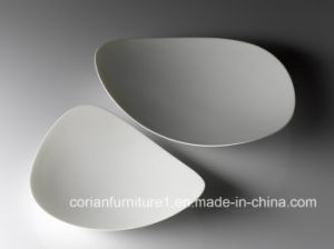 Corian Solid Surface Dishes Corian Plates pictures & photos