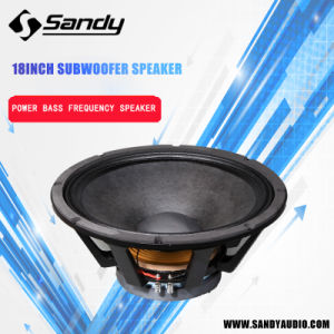 "18lf100-1 18"" Very Good Voice Professional Subwoofer pictures & photos"