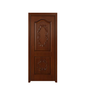 American Painting Solid Sapele Wood Livng Room Door (GSP2-078) pictures & photos