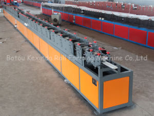 Kxd PU Sandwich Shutter Door Cold Roll Forming Machine pictures & photos