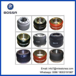 All Kinds of Brake Drums for Trucks Trailer and Tractor Brake Drum Manufactuturer in China pictures & photos