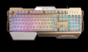 2017 Top Sale Ce RoHS LED Wired USB Backlight Mechanical Gaming Keyboard (KB-E300) pictures & photos