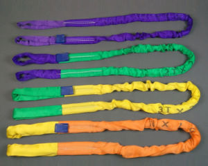 Flexible Lifting Belt Webbing and Round Polyster Sling pictures & photos