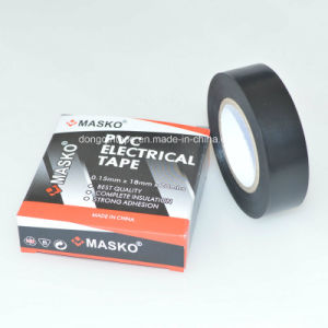 Black Adhesive PVC Plastic Electrical Tape pictures & photos