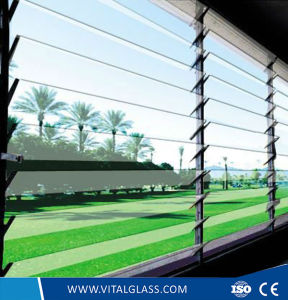 Clear Louver Windows Glass Tempered Grade pictures & photos