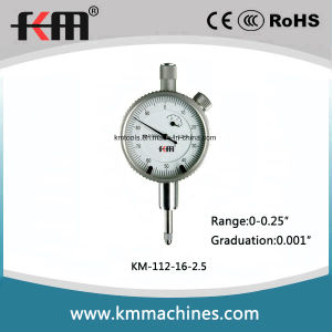 Mechanical Inch Dial Indicator with 0-0.25′′ Range pictures & photos