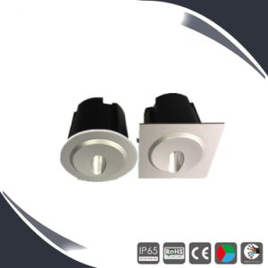Exterior 110V 3W LED Recessed Step Lighting pictures & photos