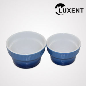 Fashion Style Porcelain Banquet Colored Cake Mould Sizes