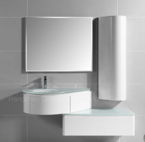 PVC Combined Vanity with Copper-Free Mirror for Bathroom pictures & photos