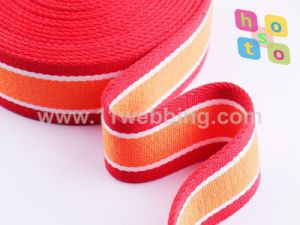 Factory Price Wholesale Polyester Cotton Webbing pictures & photos