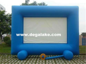 Outdoor Large Inflatable Movie Screen for Advertising pictures & photos