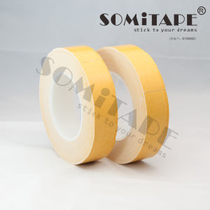 Somitape Sh323 Cheap Self Adhesive Cloth Double Sided Tape for Sticking Carpet pictures & photos