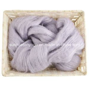 Fancy Fabric Lace Wool Silk Mix Mohair Yarn pictures & photos