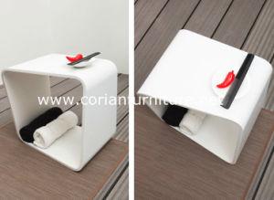 Bathroom Corian Furniture Custom Sized Shower Seat pictures & photos