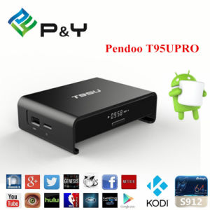 2017 Factory Sell T95upro S912 Kodi 16.1 2g16g TV Box pictures & photos