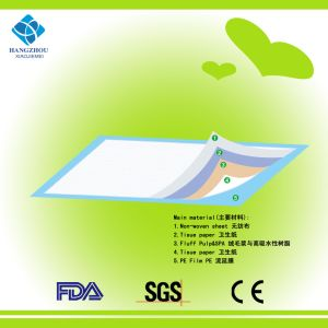 FDA and Ce Certificated Disposable Medical Incontinence Underpad pictures & photos