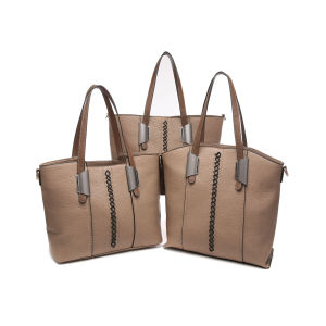 Casual Thread Decorated Capacious Women Handbags (MBNO043023) pictures & photos