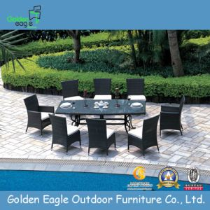 PE Rattan Aluminum Made Executive Chair