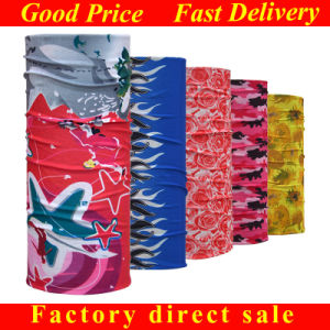 Factory Wholesale Custom Printed Motorcycle Microfiber Polyester Bandana pictures & photos