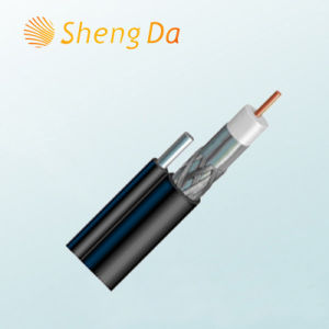 Shielded Satellite Drop Coaxial Rg11 Video and Audio Cable pictures & photos